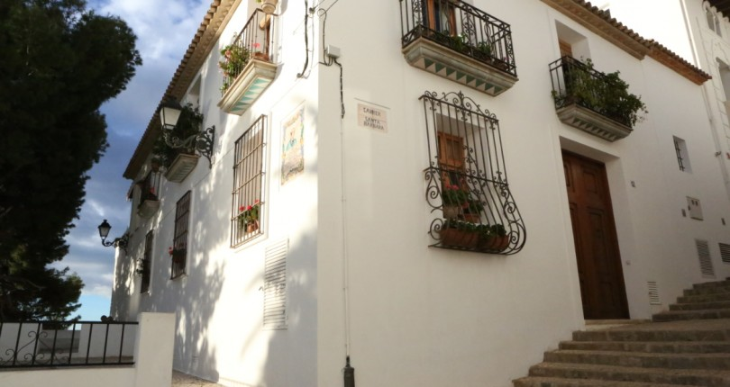 VENTA DE CASA EN ALTEA. ALICANTE. CASCO ANTIGUO. VISTAS AL MAR