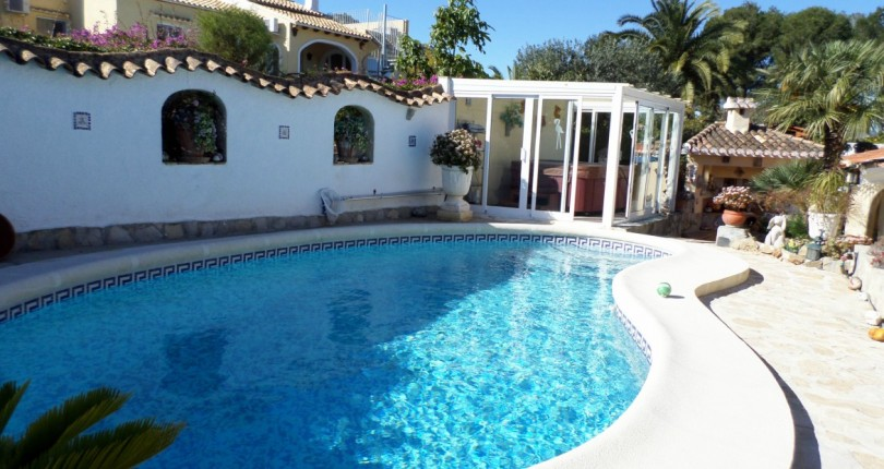 VILLA IN LA SELLA GOLF RESORT. DENIA. ALICANTE.